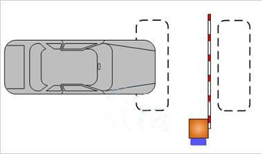 Laço indutivo detector de massa metálica para veículos